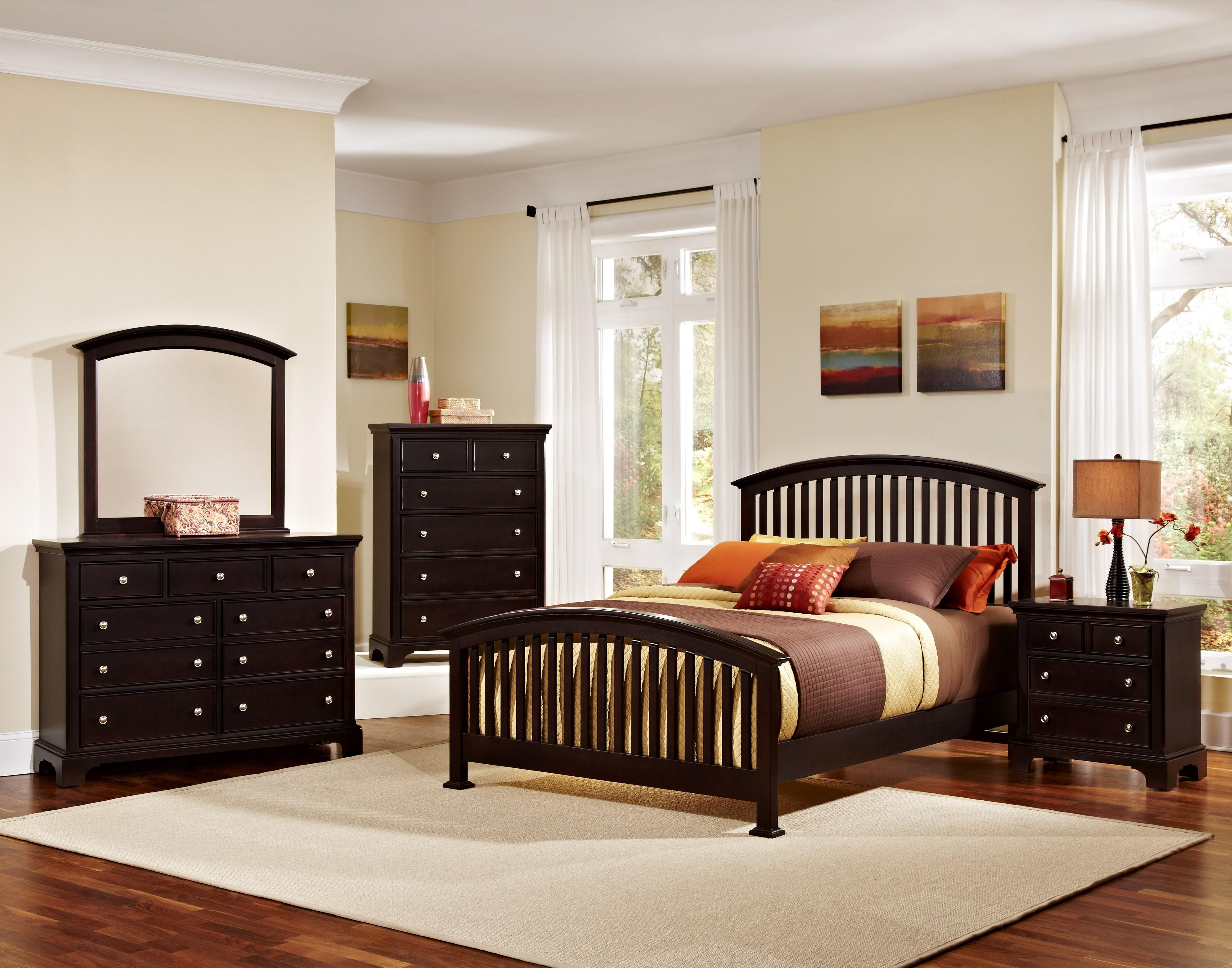Vaughan Bassett Forsyth Queen Bedroom Group - Item Number: BB76 Q Bedroom Group 3