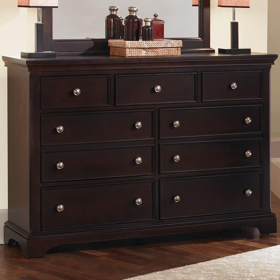Vaughan Bassett Forsyth 7 Drawer Dresser - Item Number: BB76-002