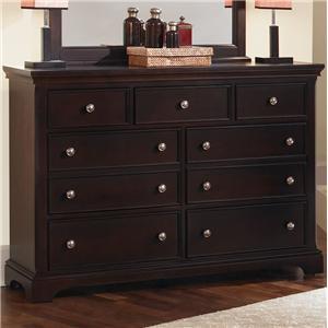 Vaughan Bassett Forsyth 7 Drawer Dresser