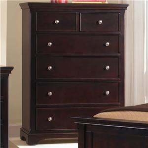 Vaughan Bassett Forsyth 5 Drawer Chest