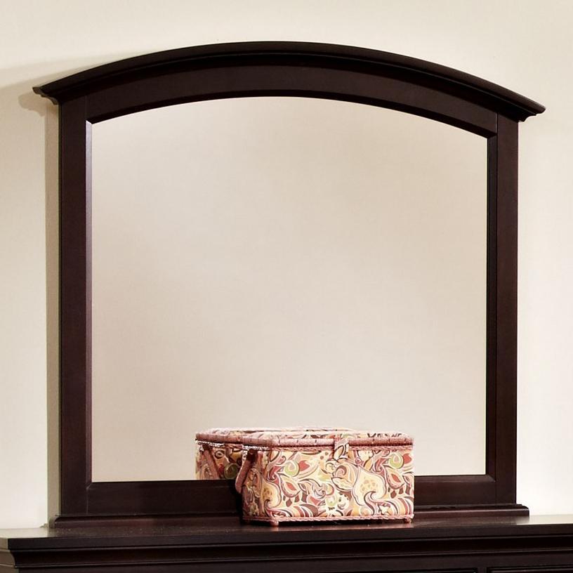 Vaughan Bassett Forsyth Arched Mirror - Item Number: BB76-447