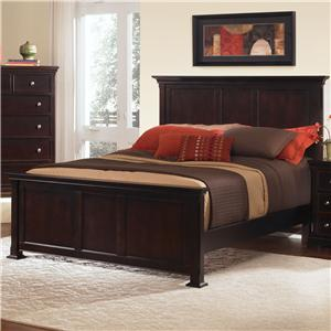 Vaughan Bassett Forsyth Queen Panel Bed