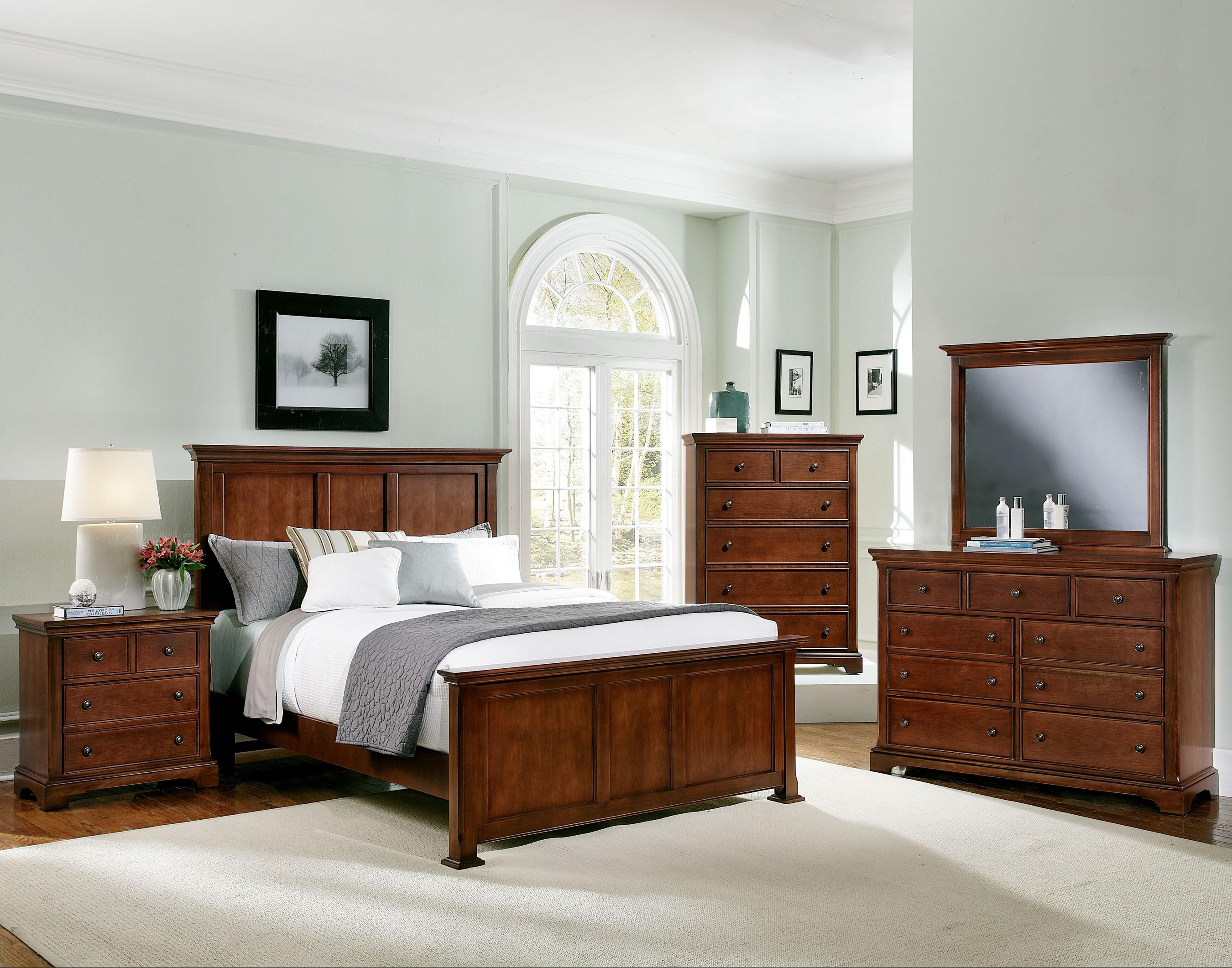 Vaughan Bassett Forsyth Queen Bedroom Group - Item Number: BB77 Q Bedroom Group 1