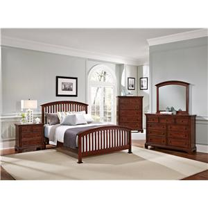 Vaughan Bassett Forsyth Queen Bedroom Group
