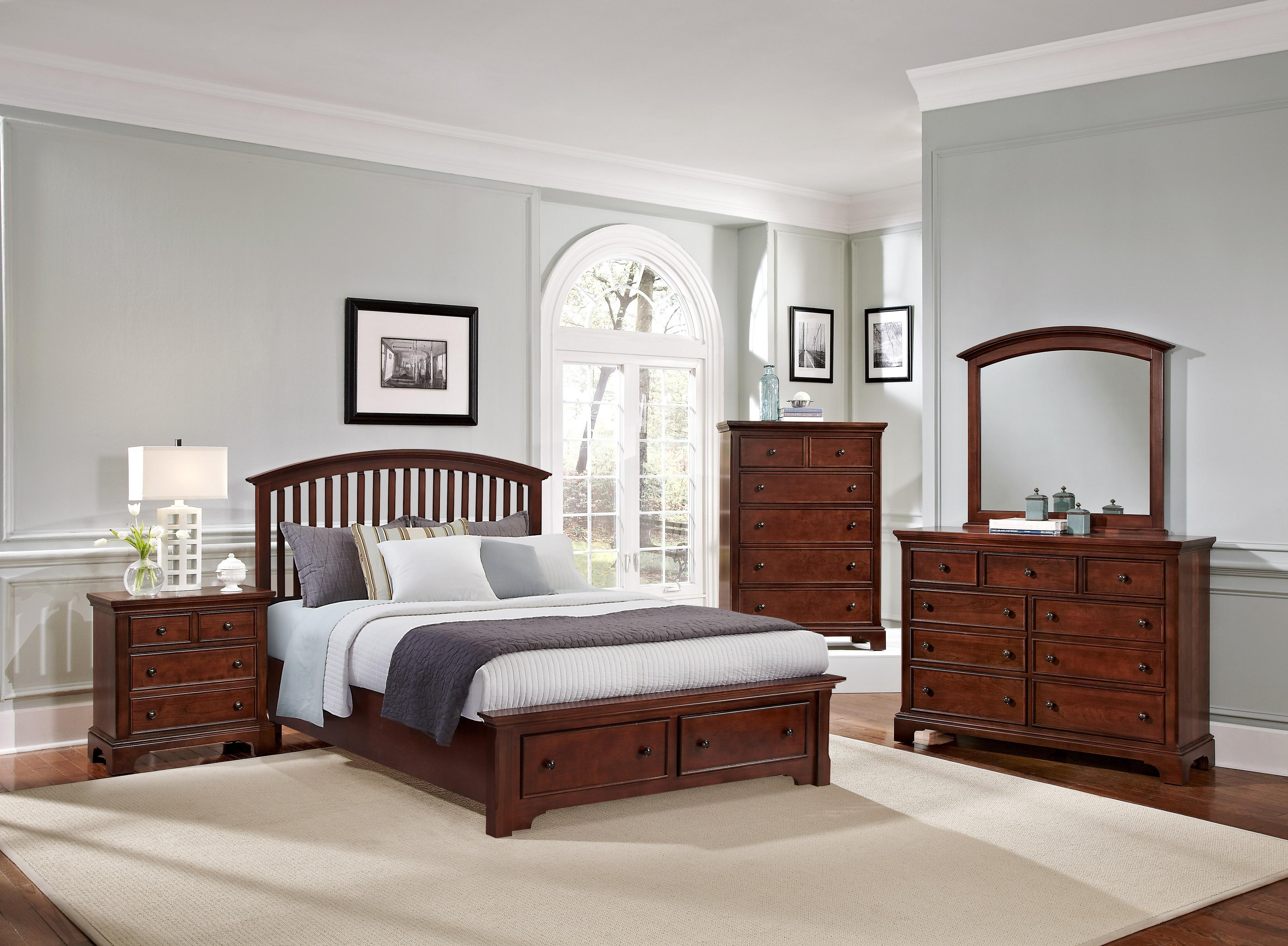 Vaughan Bassett Forsyth Queen Bedroom Group - Item Number: BB77 Q Bedroom Group 4