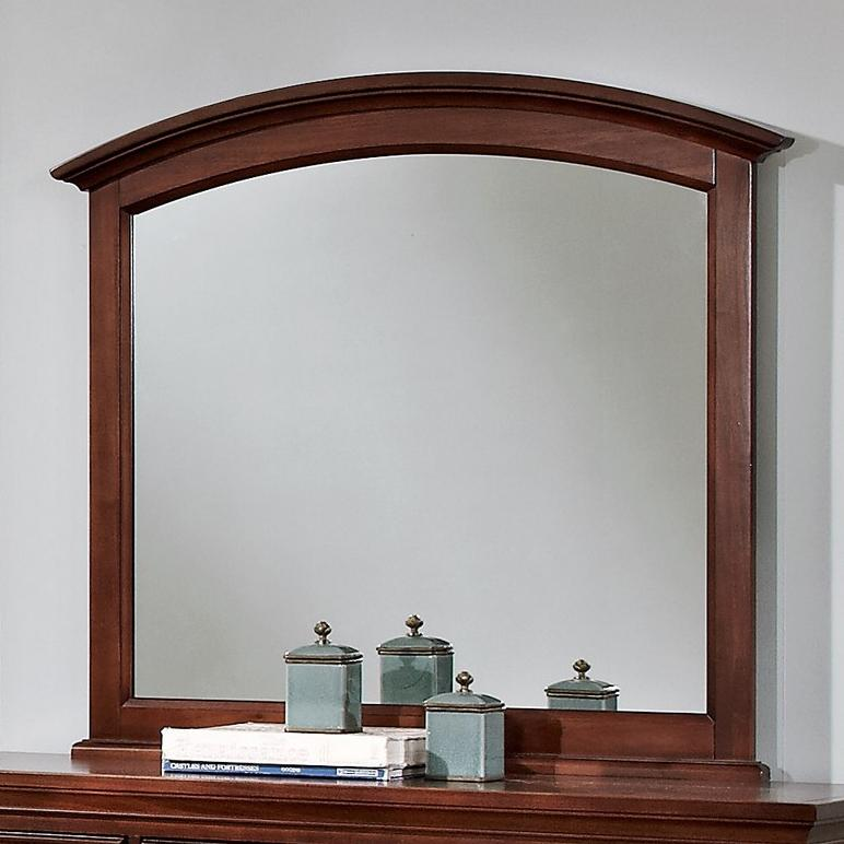 Vaughan Bassett Forsyth Arched Mirror - Item Number: BB77-447