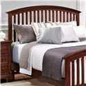 Vaughan Bassett Forsyth Queen Arched Headboard - Item Number: BB77-559
