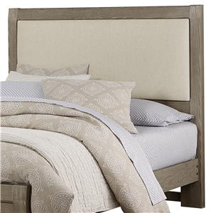 Vaughan Bassett Bedford Queen Uph. Headboard, Linen Base Cloth