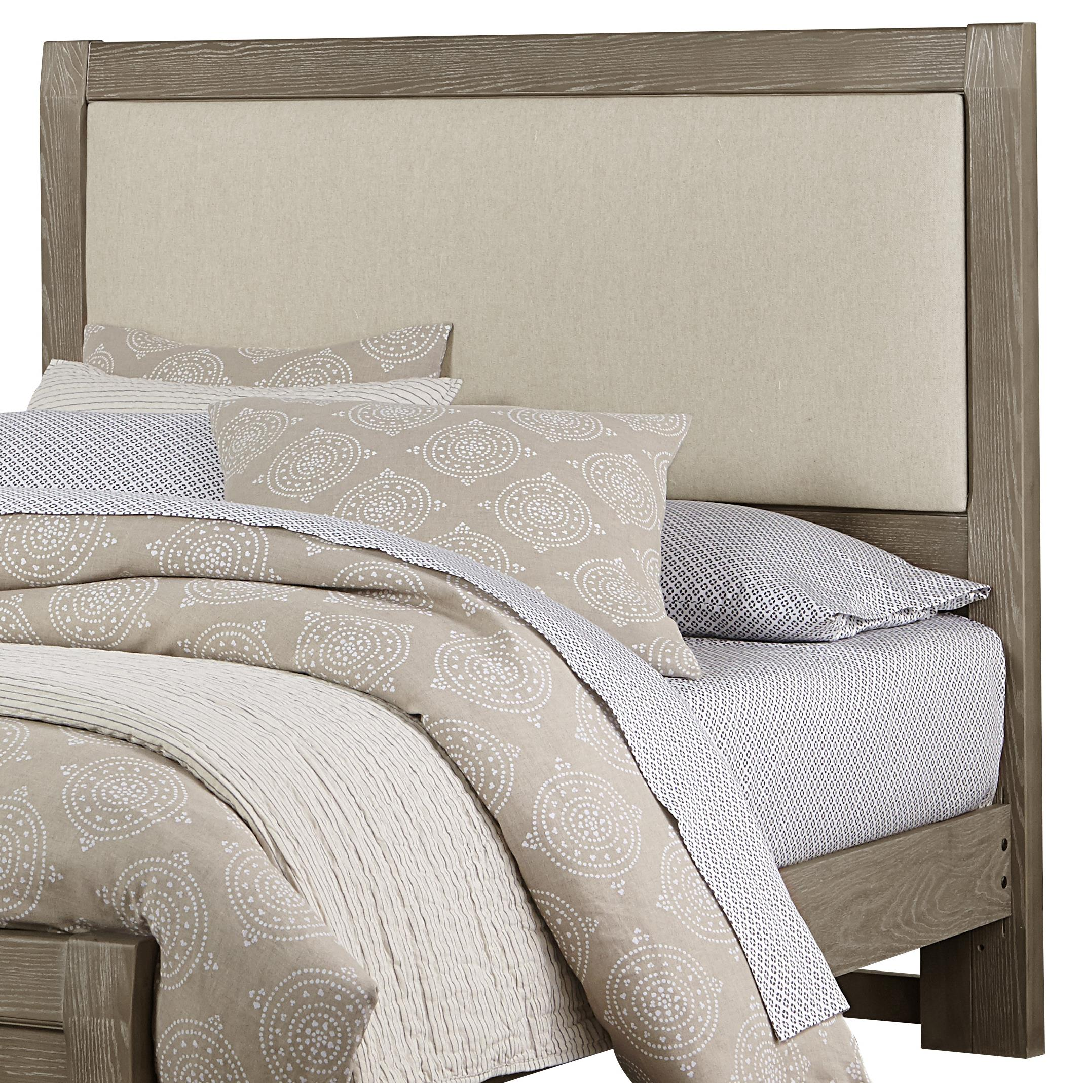 Vaughan Bassett Bedford King Upholstered Headboard, Linen Base Cloth - Item Number: BB81-661