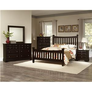 Vaughan Bassett Bedford Queen Bedroom Group