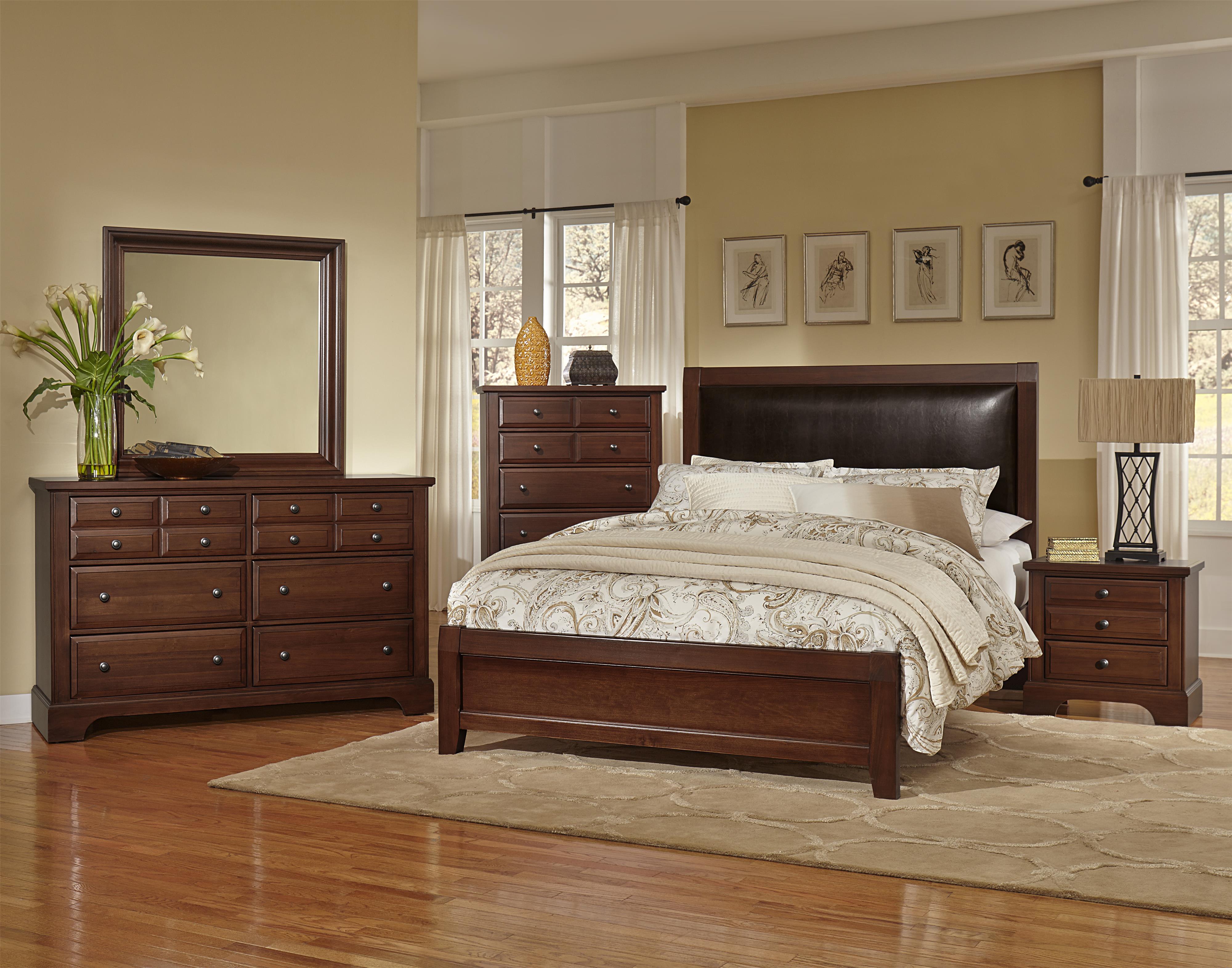 Vaughan Bassett Bedford Queen Bedroom Group - Item Number: BB89 Q Bedroom Group 2