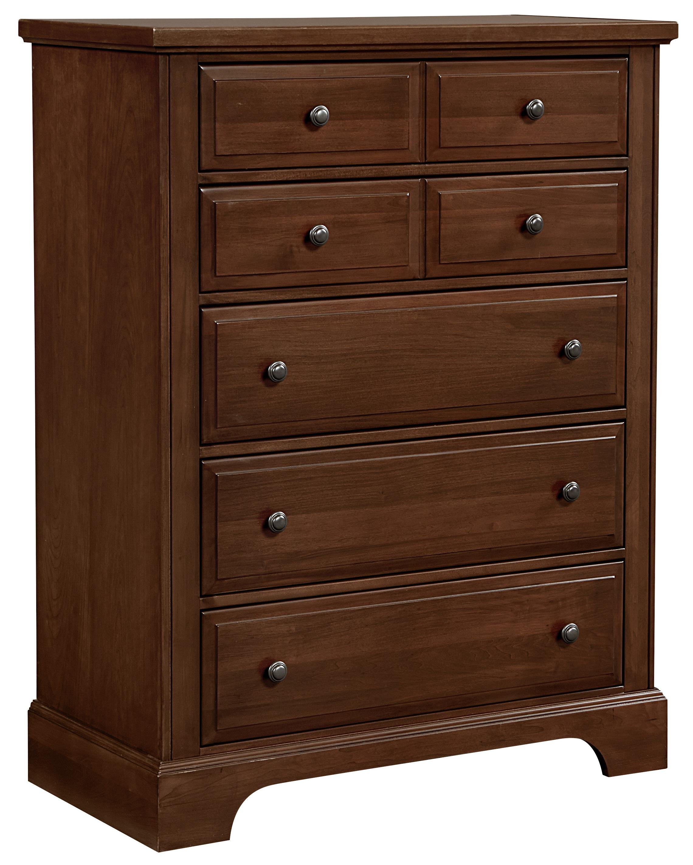 Vaughan Bassett Bedford Chest - 5 drawers - Item Number: BB89-115