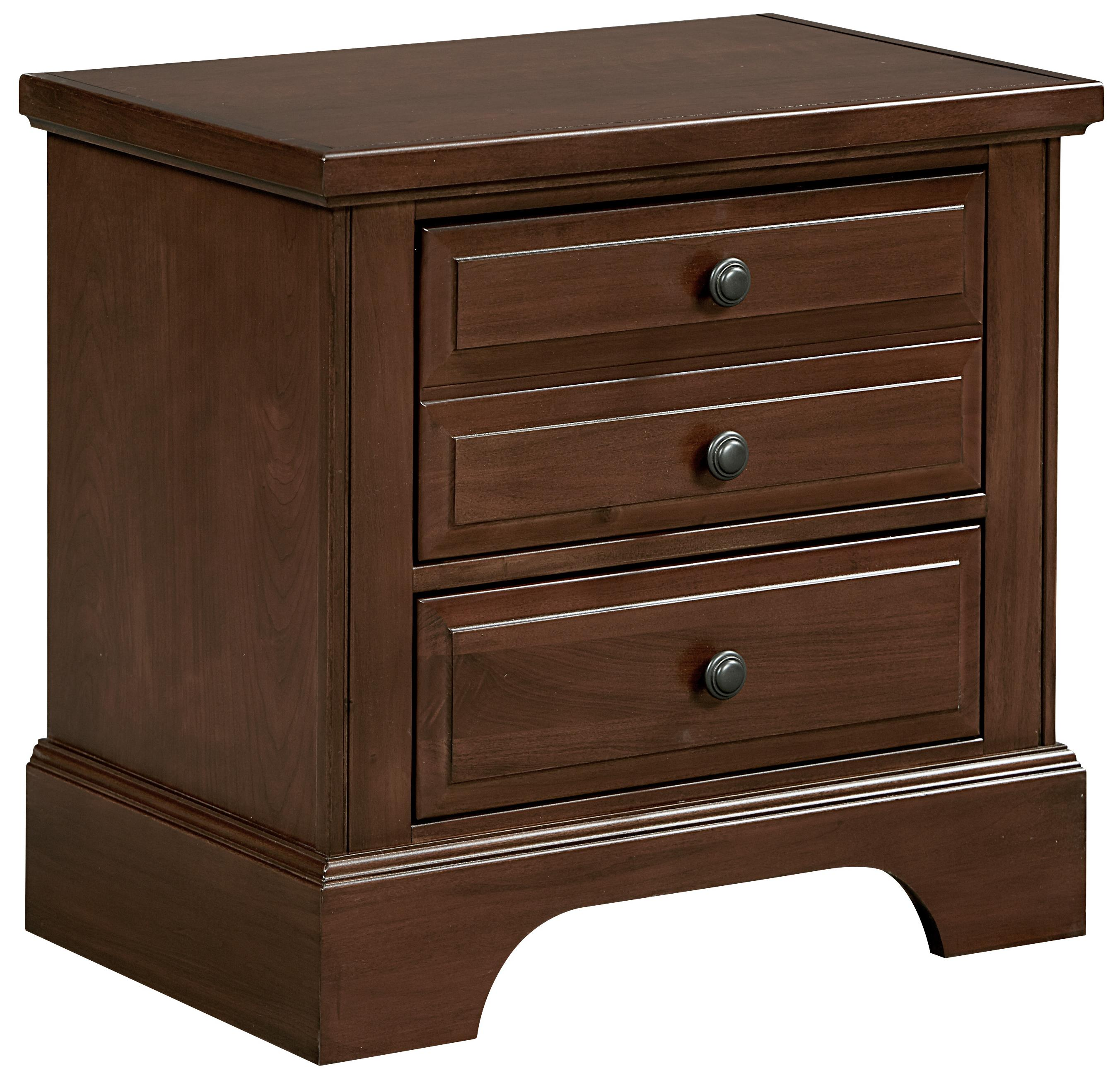 Vaughan Bassett Bedford Night Stand - 2 Drawers - Item Number: BB89-226