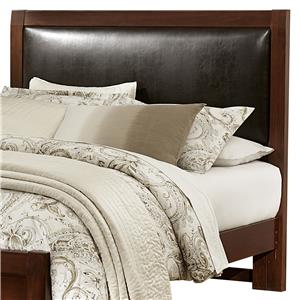 Vaughan Bassett Bedford Queen Upholstered Headboard (Bonded Leather)
