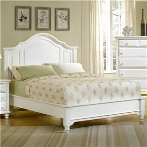 Vaughan Bassett Bedford Falls King Mansion Headboard Bed