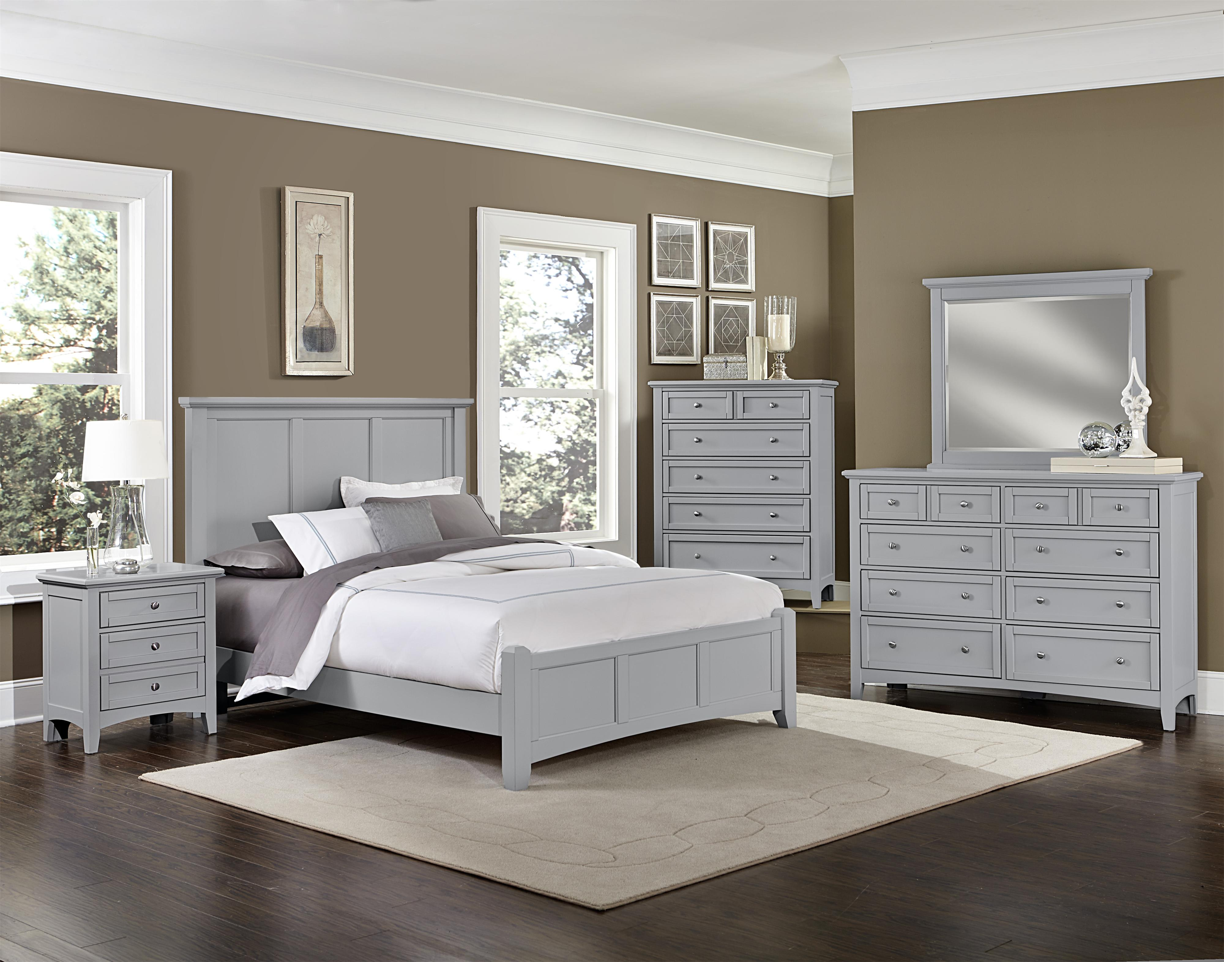 Bonanza King Bedroom Group by Vaughan Bassett at Johnny Janosik