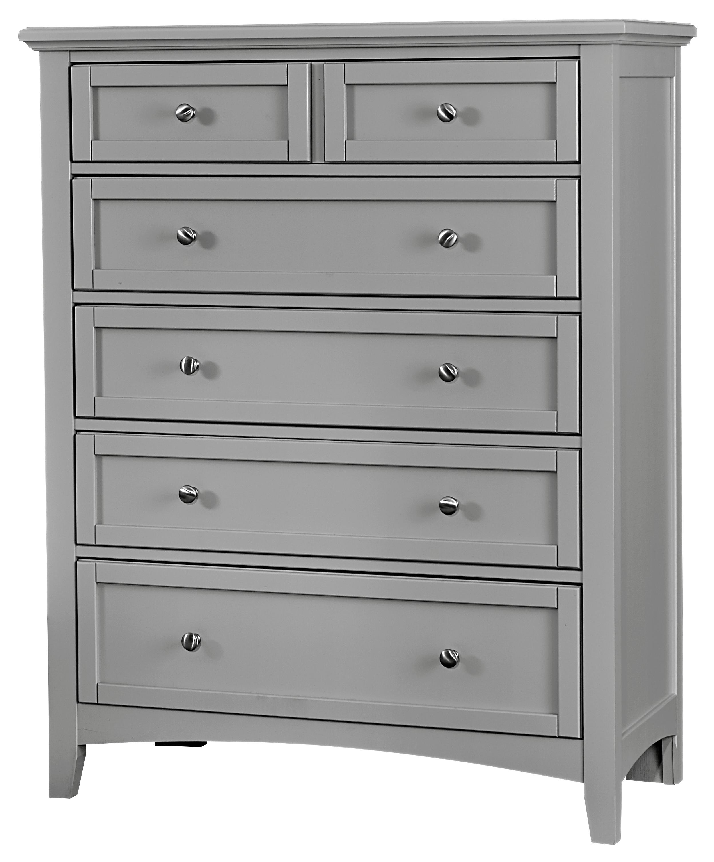 Vaughan Bassett Bonanza 5-Drawer Chest - Item Number: BB26-115