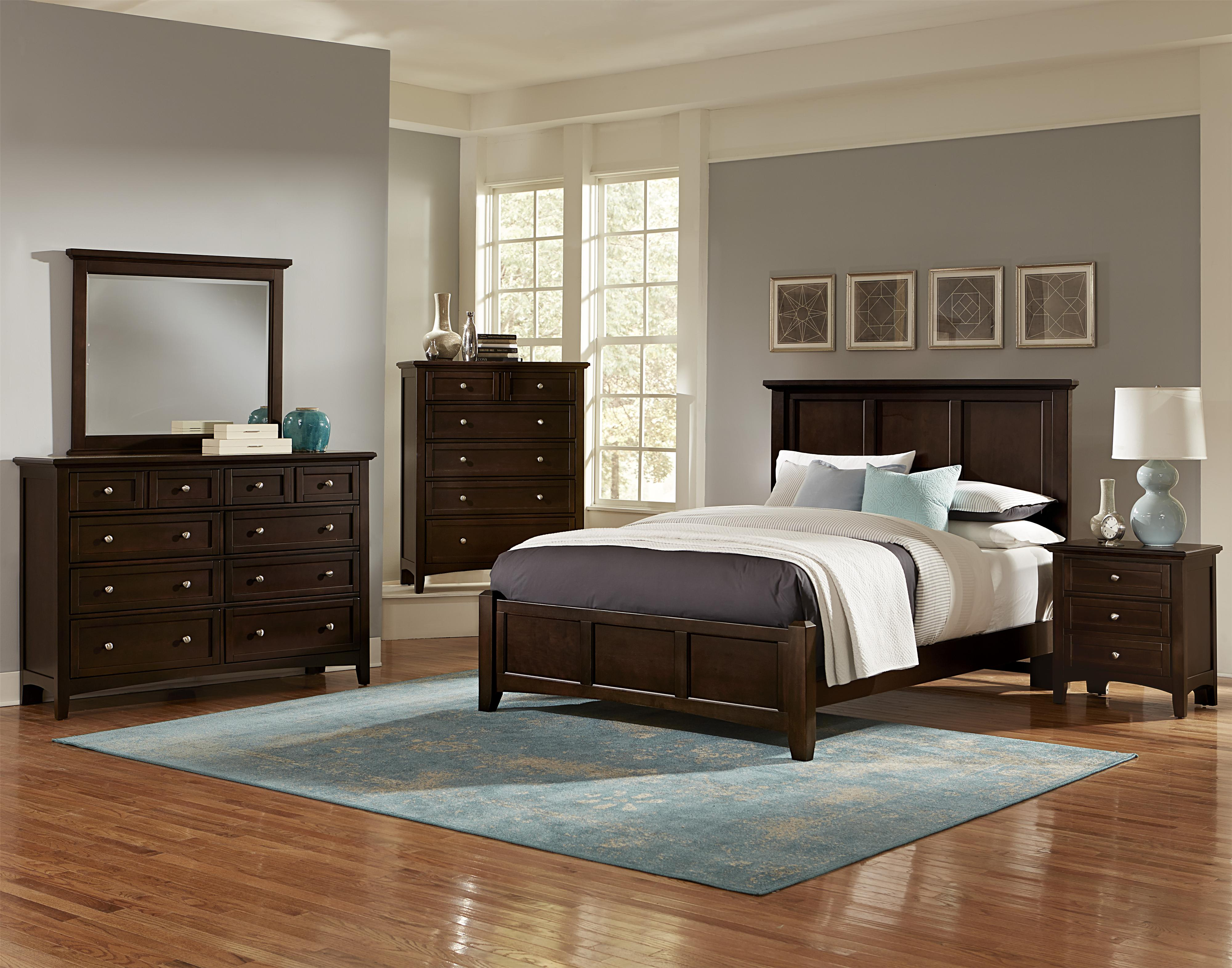 Vaughan Bassett Bonanza Bb27 002 Casual Triple Dresser 8 Drawers Hudson 39 S Furniture Dressers