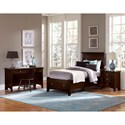 Vaughan Bassett Bonanza Twin Mansion Storage Bed with 1 Drawer