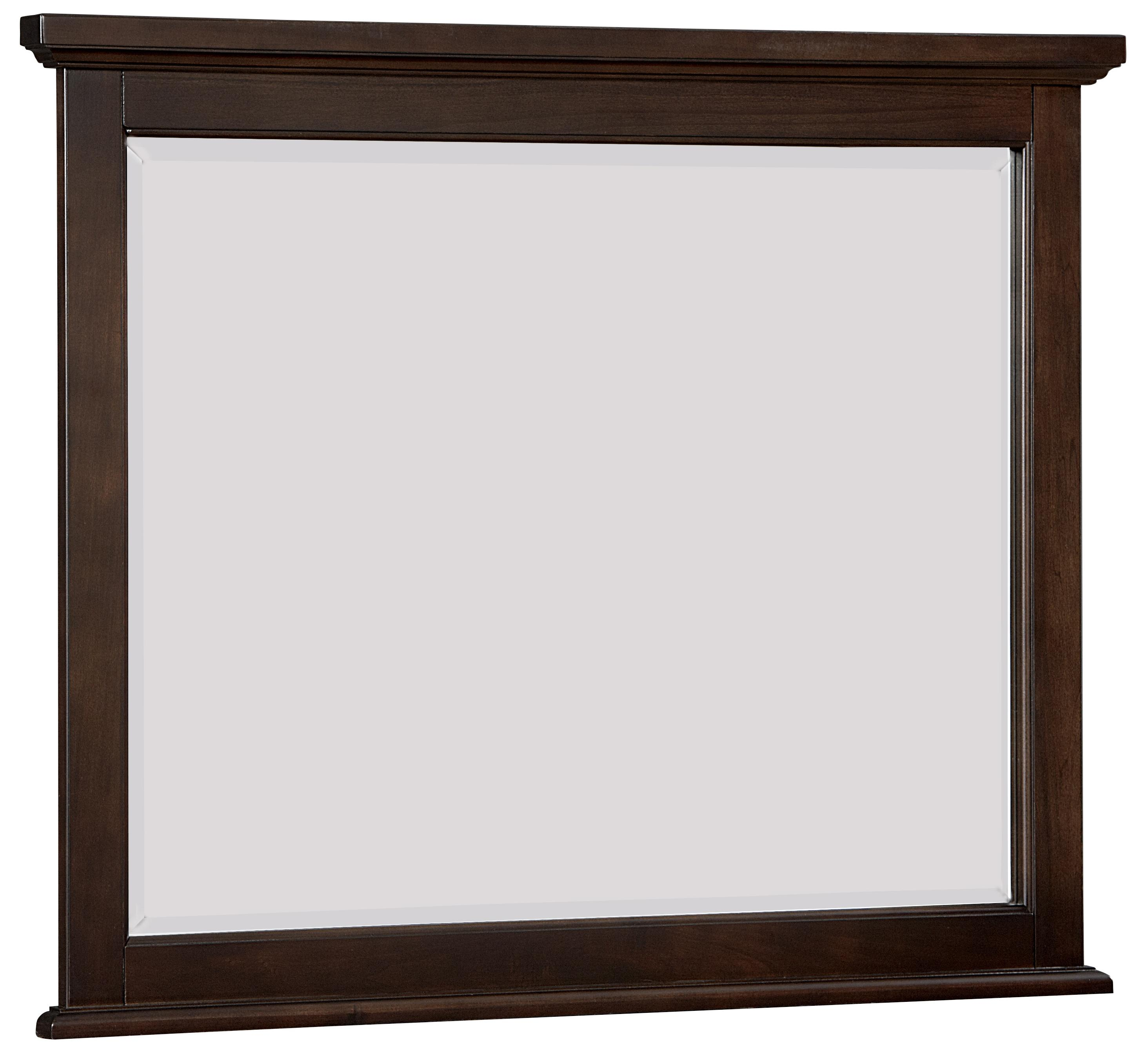 Vaughan Bassett Bonanza Landscape Mirror - Bevel Glass - Item Number: BB27-446