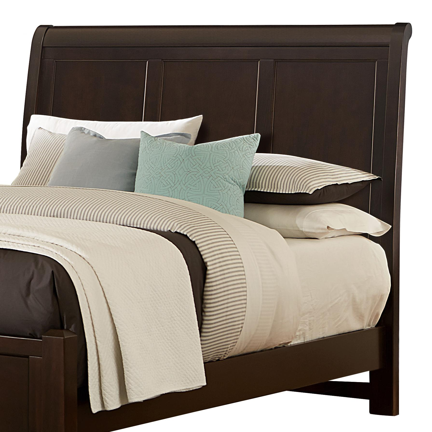Vaughan Bassett Bonanza Queen Sleigh Headboard - Item Number: BB27-553