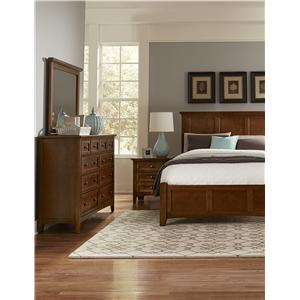 Vaughan Bassett Bonanza Queen Bedroom Group