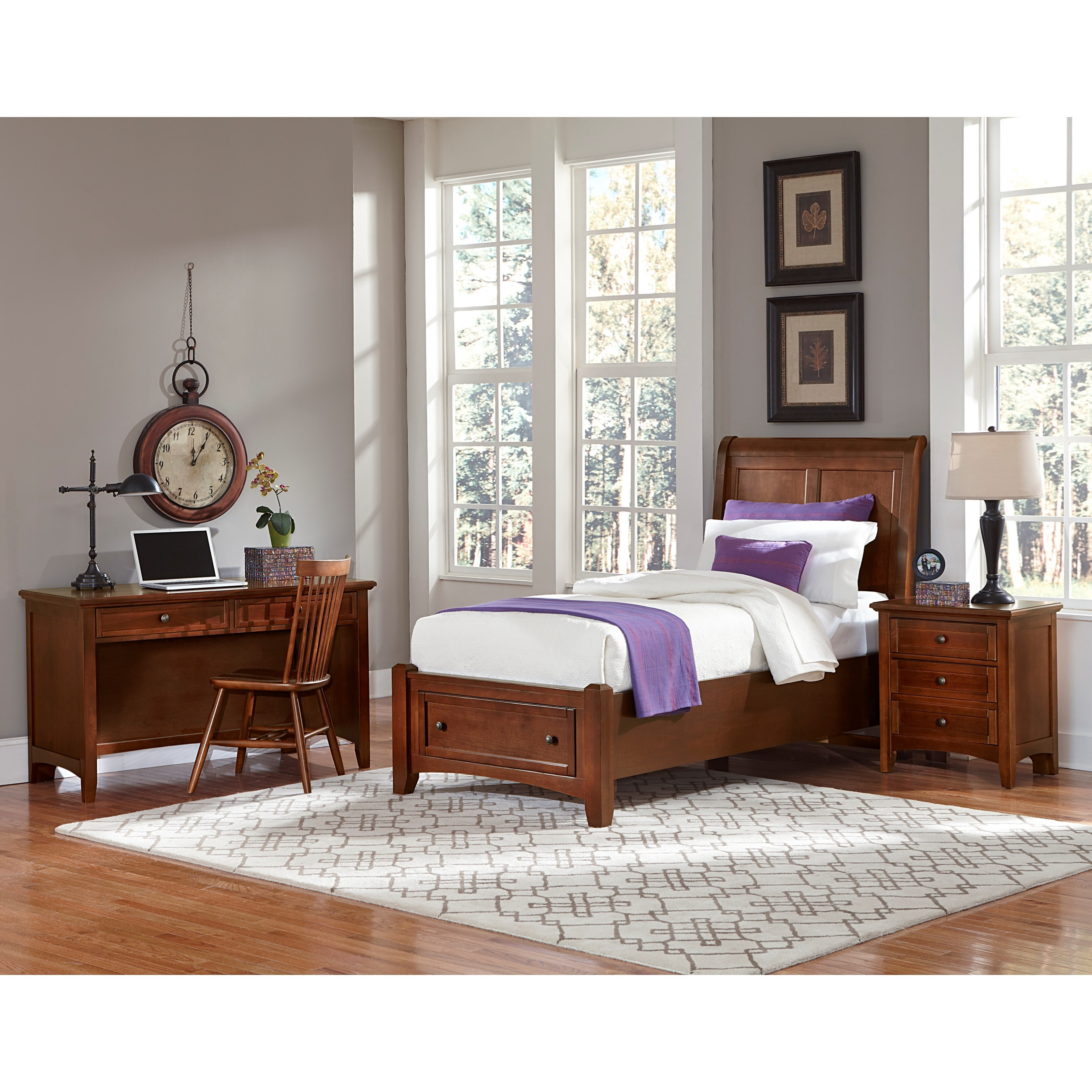 Bonanza Twin Bedroom Group by Vaughan Bassett at Johnny Janosik