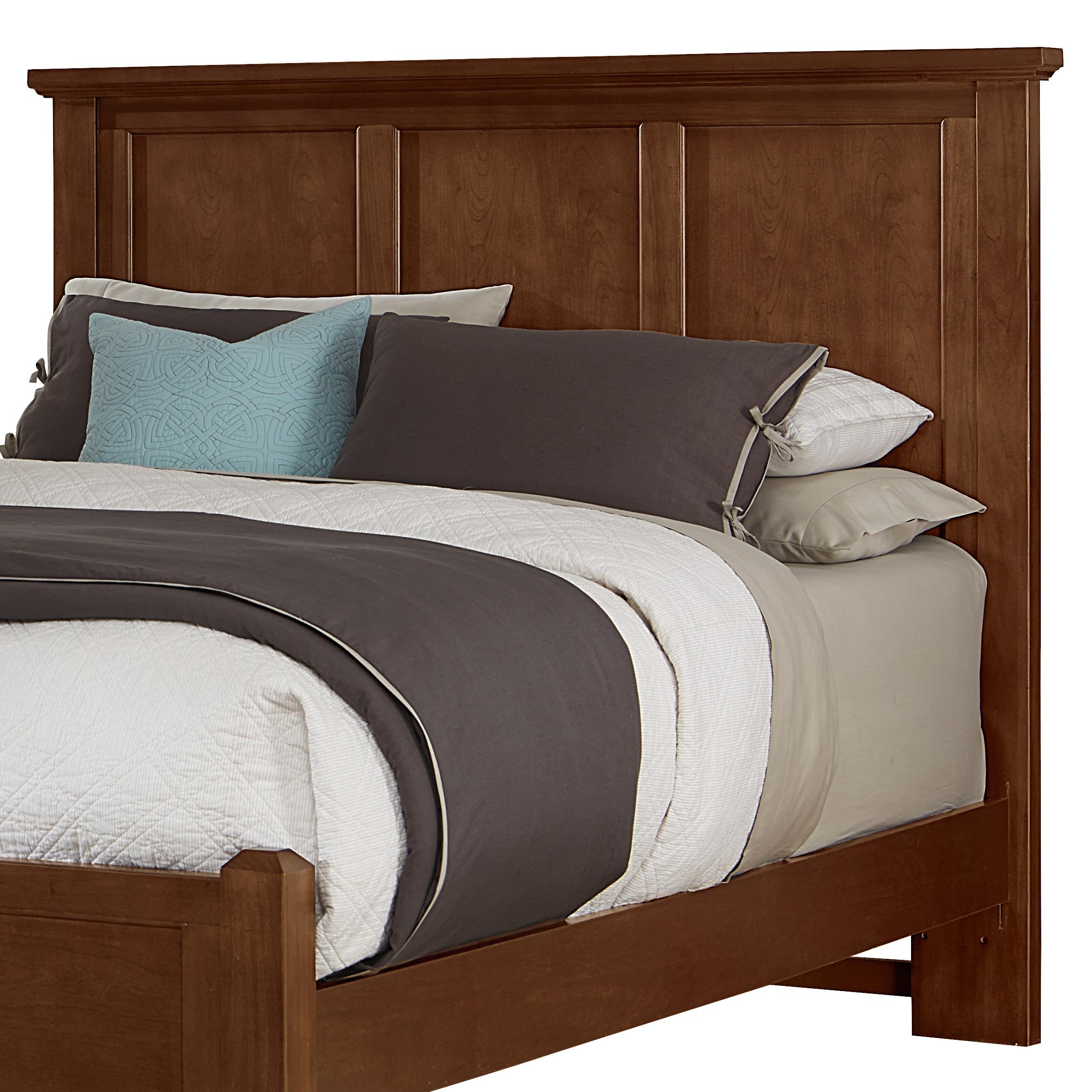 Vaughan Bassett Bonanza Full Mansion Headboard - Item Number: BB28-552