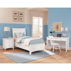 Vaughan Bassett Bonanza Twin Bedroom Group