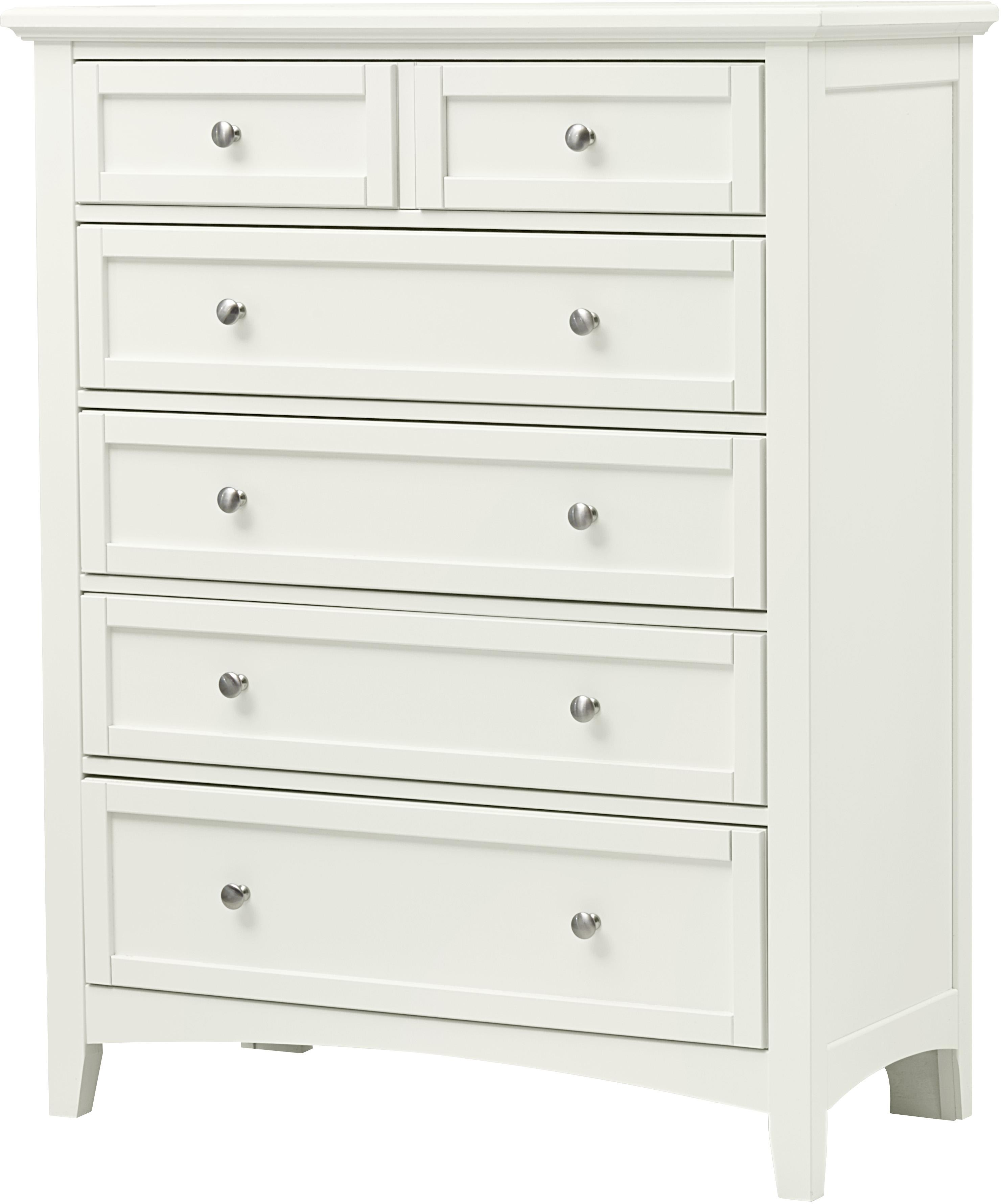 Vaughan Bassett Bonanza 5-Drawer Chest - Item Number: BB29-115