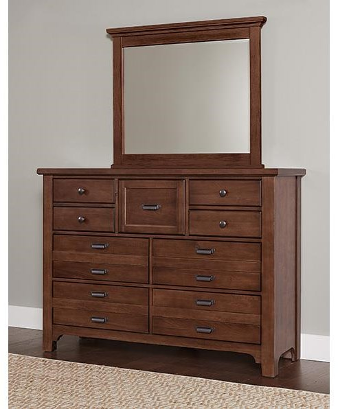9 Drawer Dresser and Master Landscape Mirror