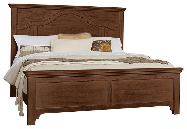 Bungalo Home King Mantel Bed by Vaughan Bassett at Johnny Janosik
