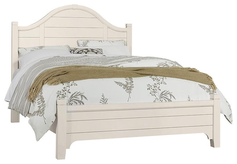 Bungalo Home King Arch Bed Set by Vaughan Bassett at Johnny Janosik