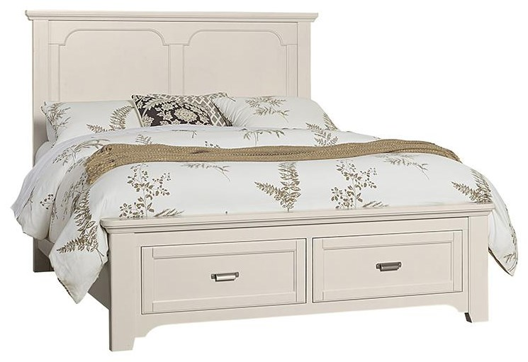 Bungalo Home Queen Panel Storage Bed by Vaughan Bassett at Johnny Janosik