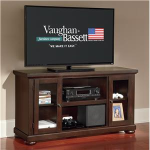 "Vaughan Bassett The Lifestyle Collection 54"" Media Center"