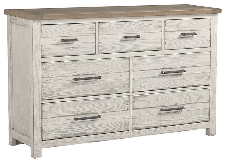 Centennial Solids 7 Drawer Dresser by Vaughan Bassett at Johnny Janosik