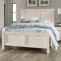 Vaughan Bassett Chestnut Creek Queen Panel Bed - Item Number: 164-559+955+922