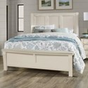 Vaughan Bassett Chestnut Creek King Panel Bed - Item Number: 164-669+366+933+MS1
