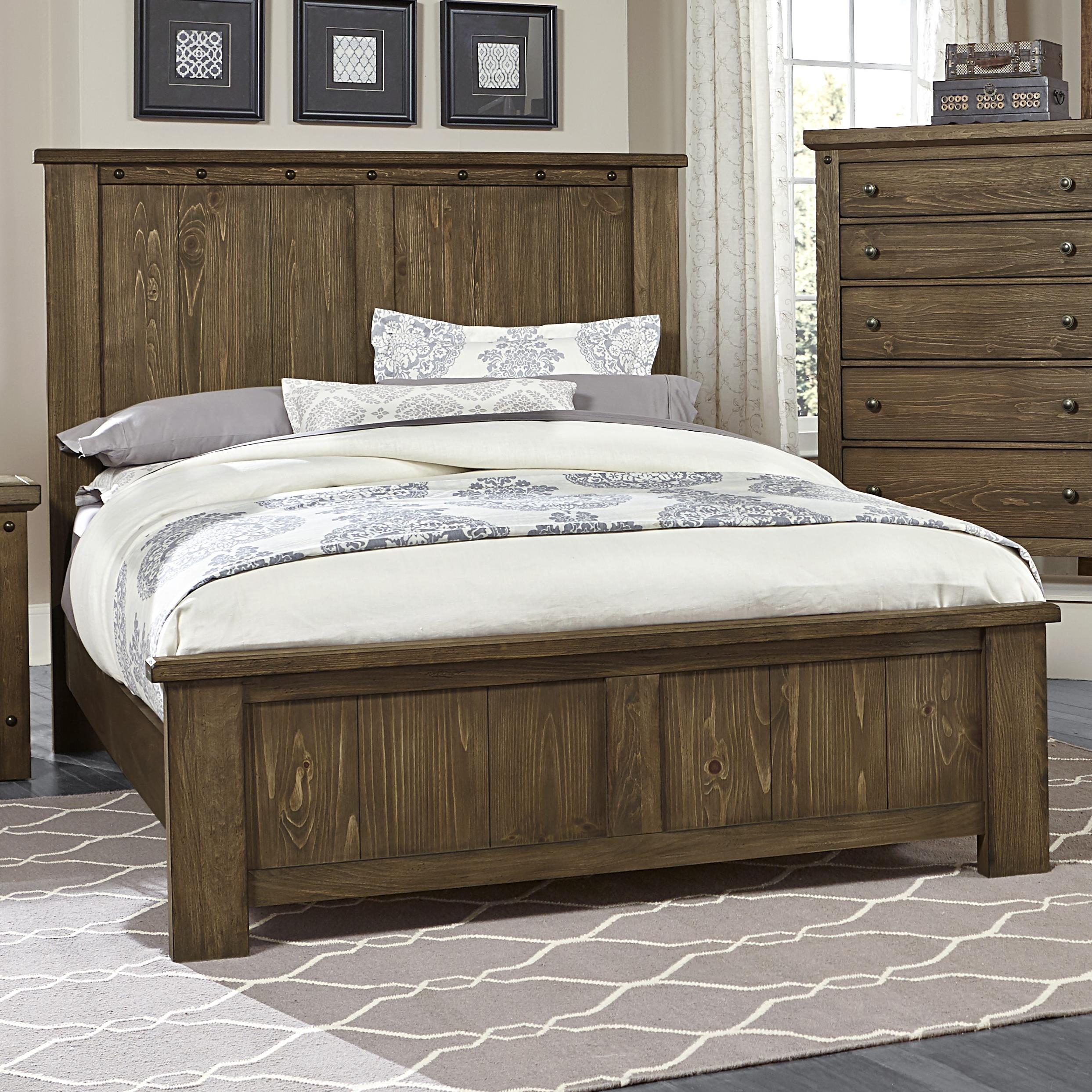 Vaughan Bassett Collaboration King Panel Bed - Item Number: 610-668+866+922+MS2