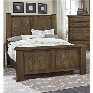 Vaughan Bassett Collaboration Queen Poster Bed