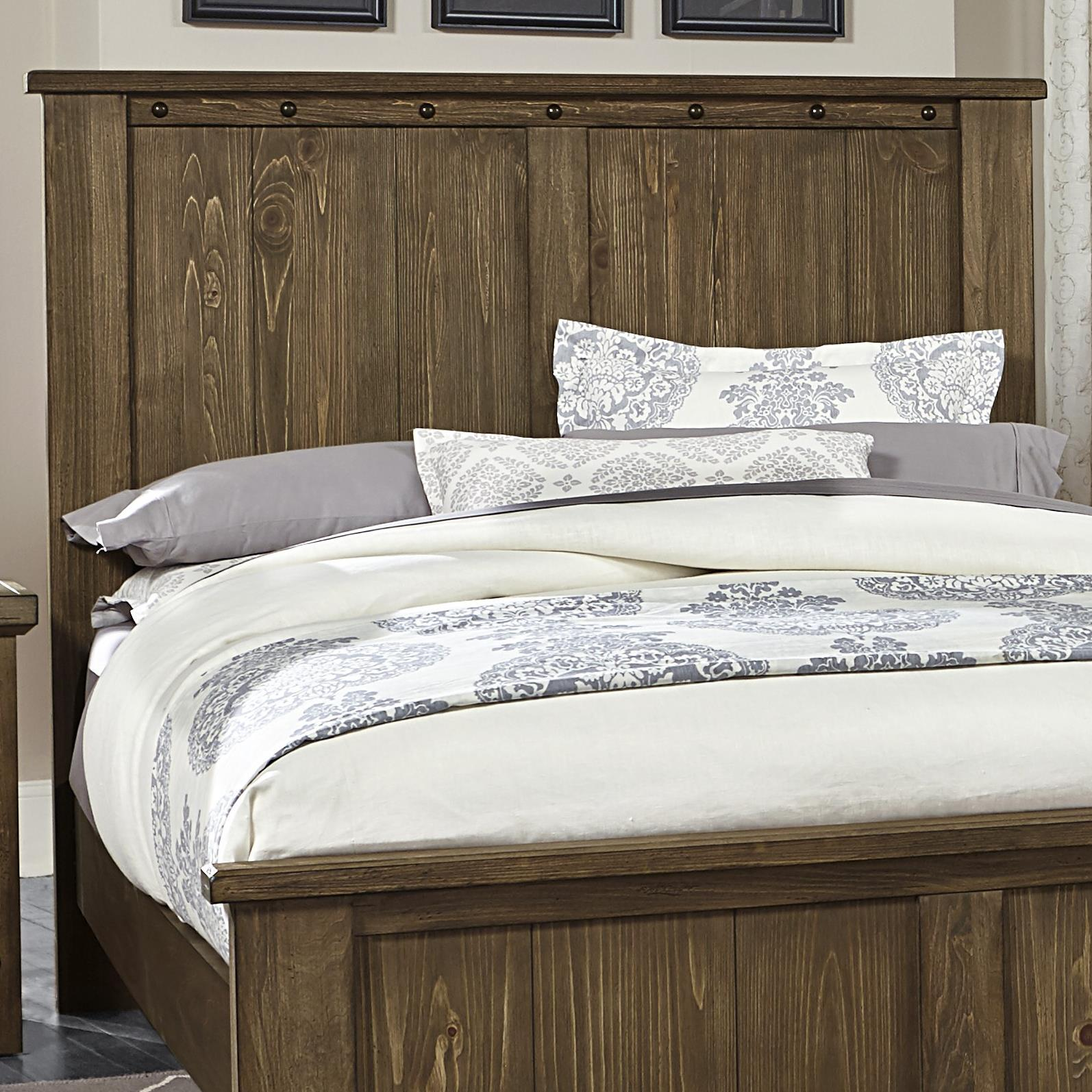 Vaughan Bassett Collaboration King Panel Headboard - Item Number: 610-668
