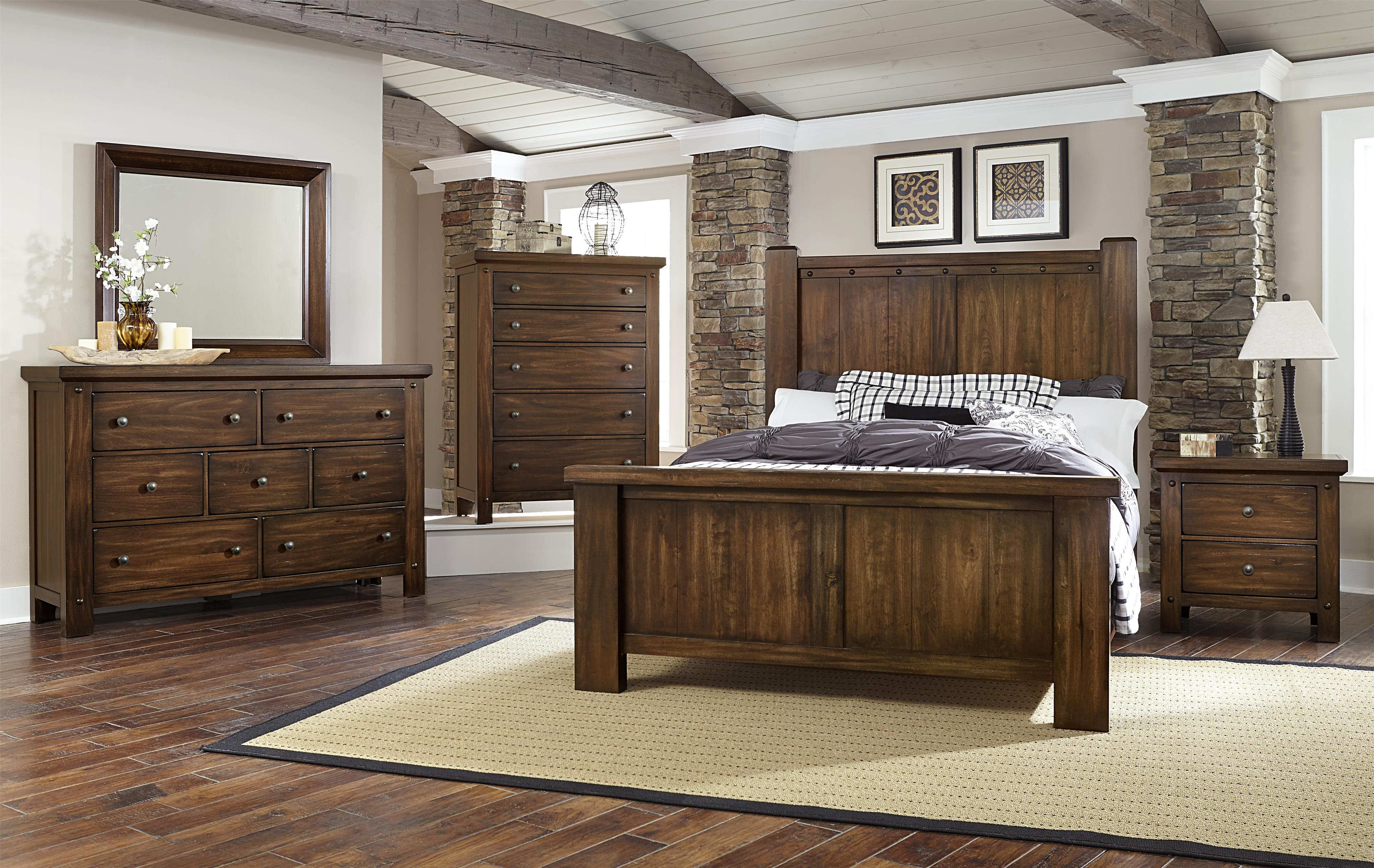Vaughan Bassett Collaboration King Bedroom Group - Item Number: 612 K Bedroom Group 2