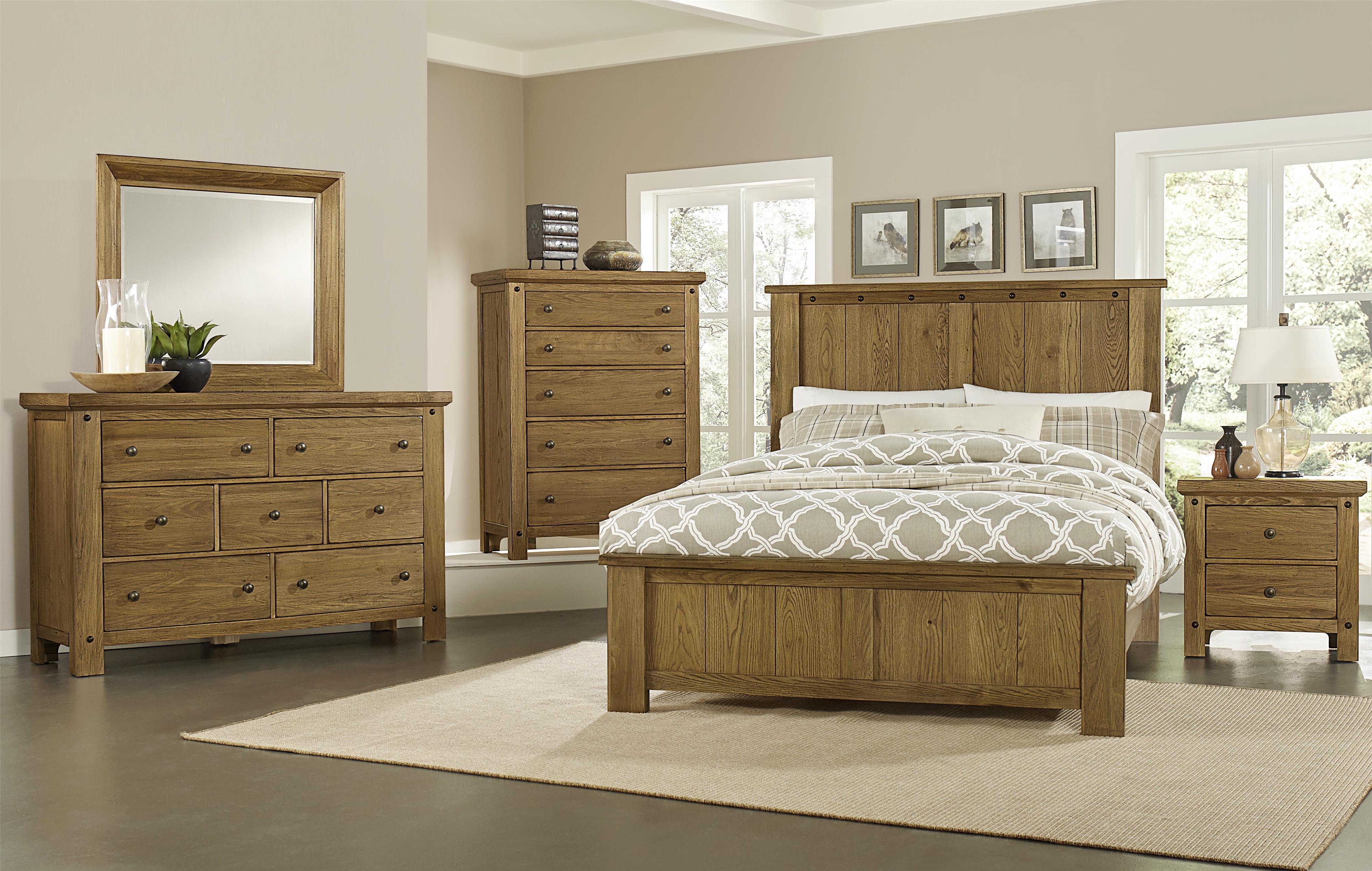 Vaughan Bassett Collaboration Queen Bedroom Group - Item Number: 614 Q Bedroom Group 1