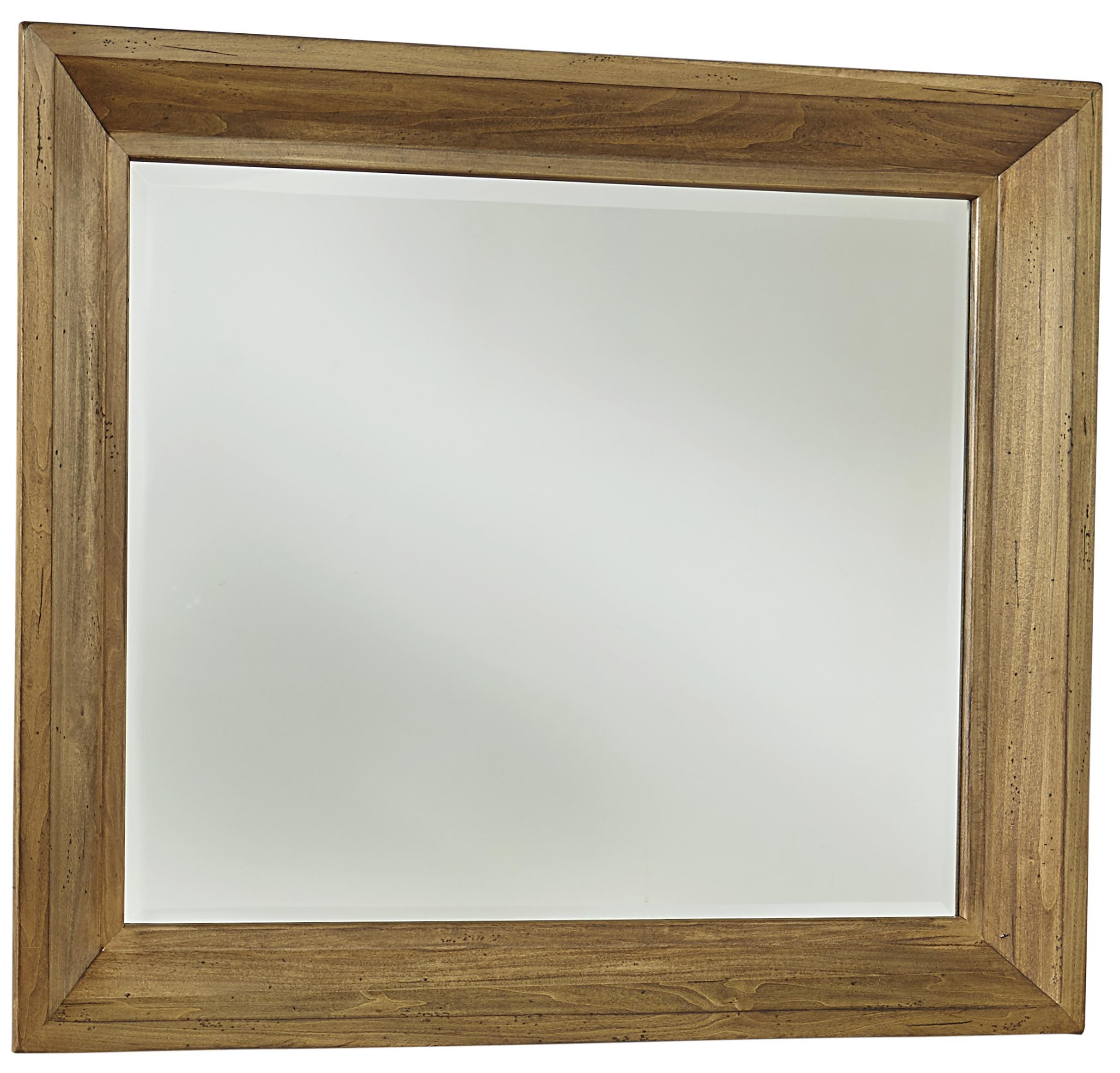 Vaughan Bassett Collaboration Landscape Mirror - Item Number: 614-446