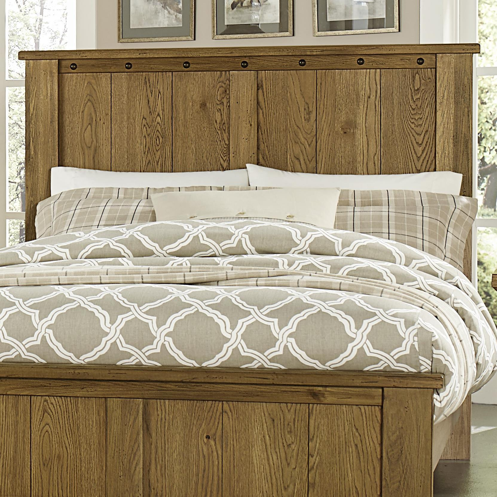 Vaughan Bassett Collaboration Full/Queen Panel Headboard - Item Number: 614-558