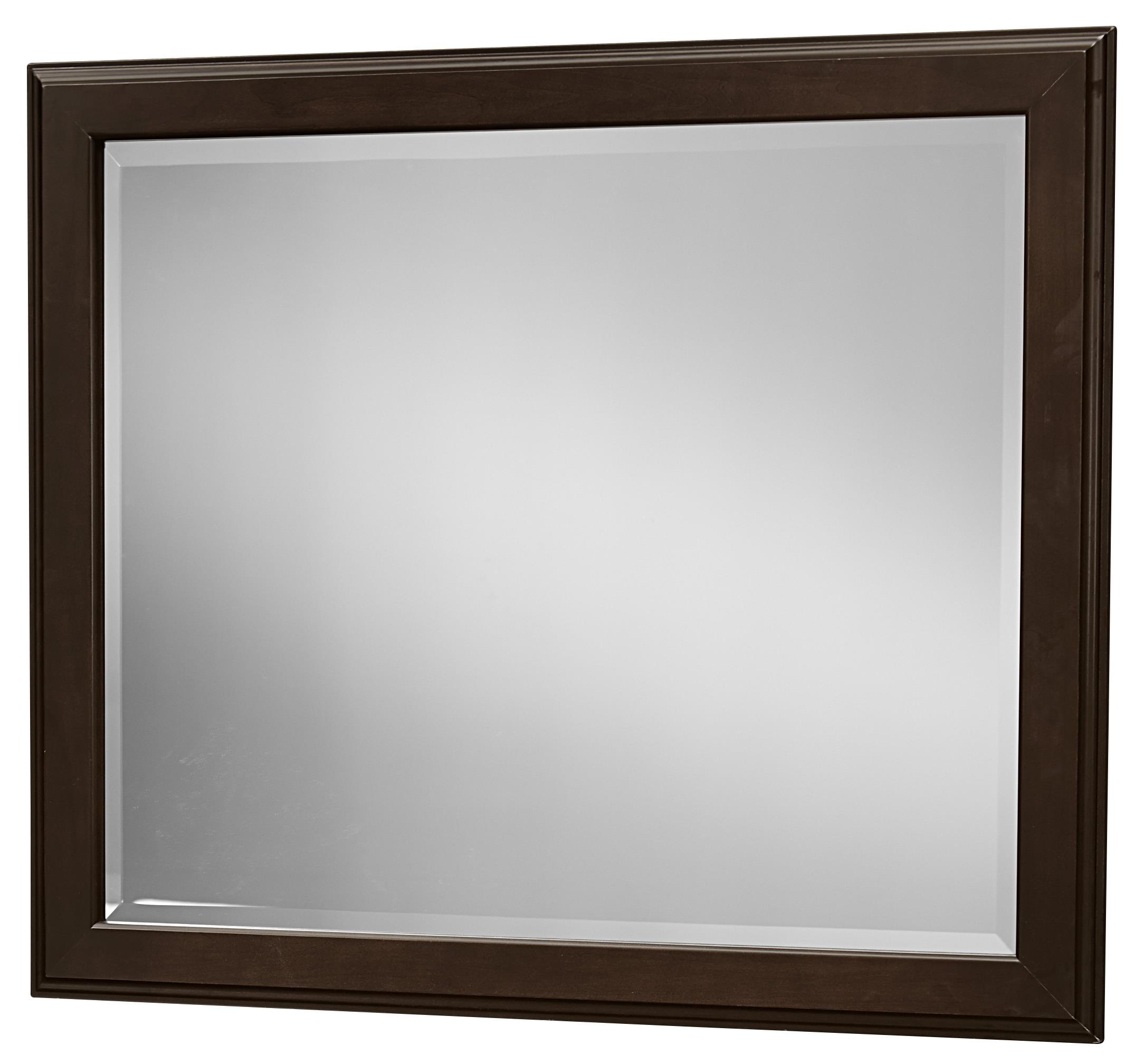 Vaughan Bassett Commentary Large Landscape Mirror - Item Number: 390-445