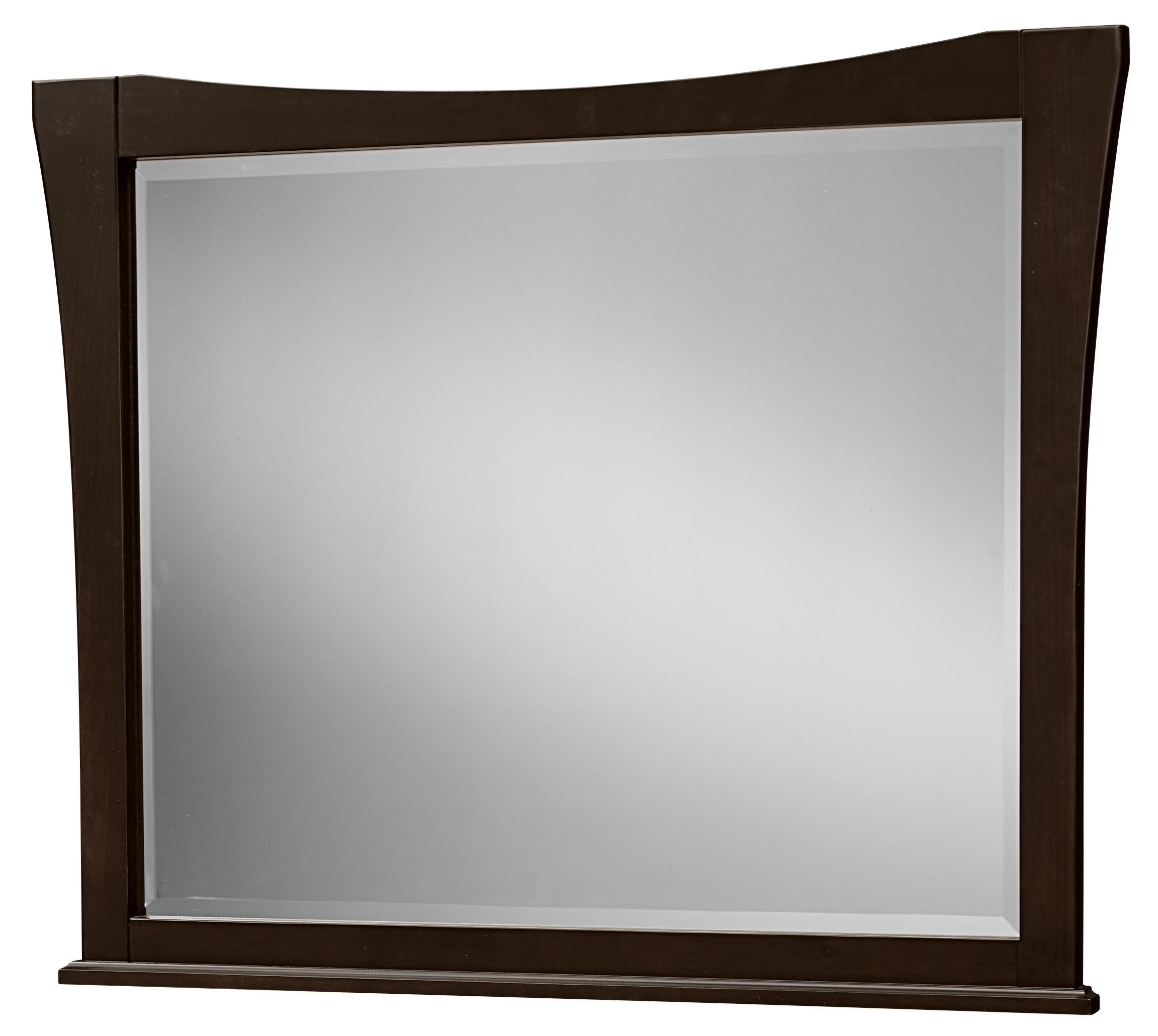 Vaughan Bassett Commentary Large Wing Mirror - Item Number: 390-446