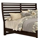 Vaughan Bassett Commentary Queen Benchback Headboard - Item Number: 390-558