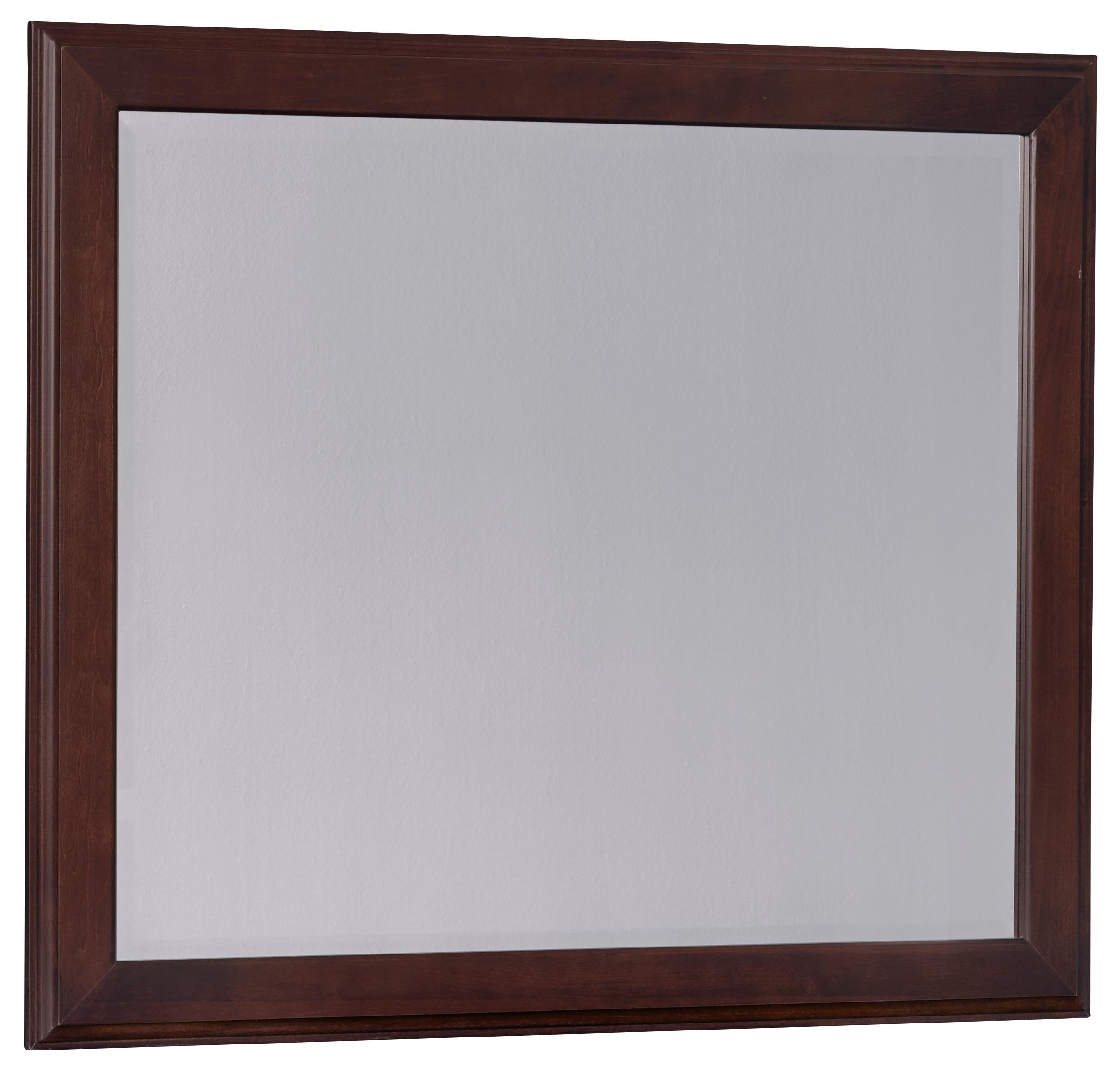 Vaughan Bassett Commentary Large Landscape Mirror - Item Number: 392-445