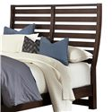 Vaughan Bassett Commentary King Benchback Headboard - Item Number: 392-668